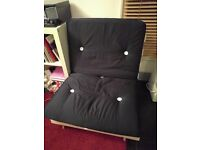 Single Futon sofa bed - Almost new