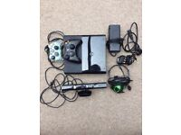XBOX 360 E + Extra Controller + Head Set + XBOX Kinect _+ Games in very good condition
