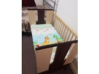 Wooden baby cot in Excellent condition !!!!!