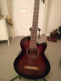 Ibanez Electro Acoustic Bass Guitar