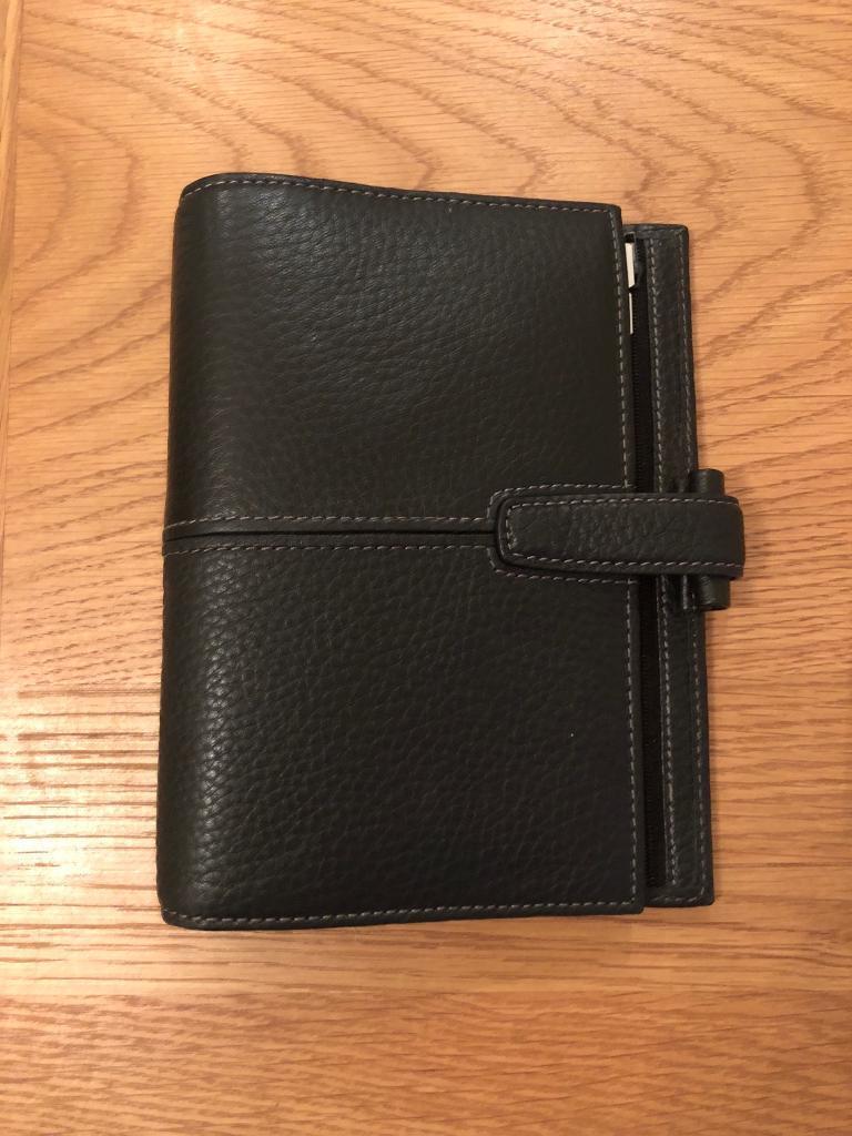 Filofax black leather diary SOLD