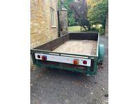 8x4 2 wheeler trailer