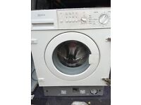 Neff integrated washing machine