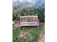Garden bench free to collect