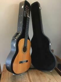 Classic Spanish Guitar and Case