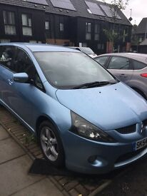 Mitsubishi Grandis Runs smoothly but has a cracked windscreen and no MOT Open to offers.