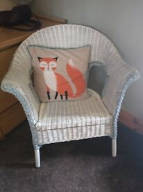Wooden Chair - Painted - Cushion Included