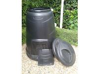 Compost Bins + Aerator