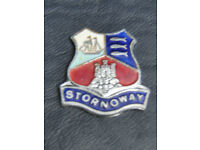 350 Rare Enamel Crests Of The Scottish Town Of Stornoway