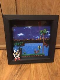 Sonic box frame
