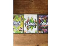 SIMS 3 bundle PCMAC- expansion packs