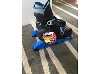 Adjustable Inline Roller Blades SK8R fits children sizes from 1-11 & 2-5