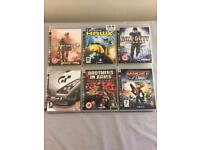 10 PS3 games including Gran Turismo 5 and COD