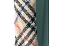 Burberry tie, pure Cashmere