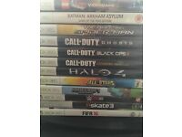Xbox 360 with 12 games and 2 controllers