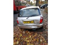 Daihatsu Sirion, in perfect running condition only needs a boot door.