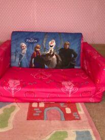 Child's frozen sofa bed