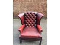 Chesterfield sofa & Arm Chair