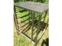 Stainless Steel Free Standing Kitchen Surface