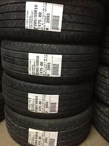 205/55/16 continental Contipro Contact allseasons tires