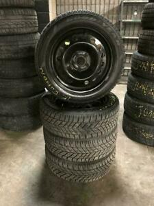 FORD FUSION/ESCAPE RIMS AND TIRES 225 50R 17 GOODYEAR ULTRA GRIP WINTER SNOW TIRES EXCELLENT CONDITION 5X108 BOLT