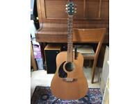 Simon & Patrick 6 Cedar Left Handed Acoustic Guitar