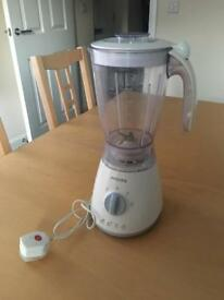 Used White Philips Blender