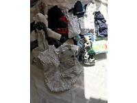 Baby boy clothes newborn and 0-3 months