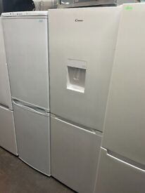 WHITE CANDY FRIDGE FREEZER GRADED NOT USED