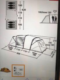Outwell Iowa 6 Tent