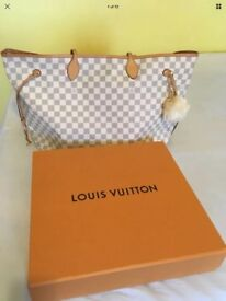 Louis Vuitton neverfull neverfull Azur handbag