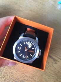 MENS HUGO BOSS WATCH IN BOX