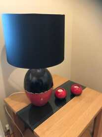 Lamp and candle holders