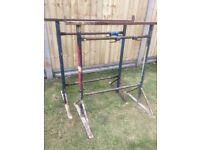 Builders steel trestle x2