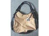 River island tan handbag