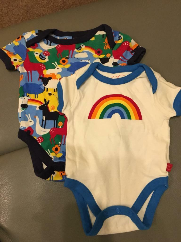 Little bird by joules Oliver vests up to 3 months