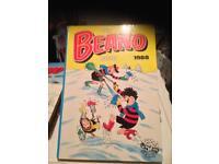 Beano comic annuals