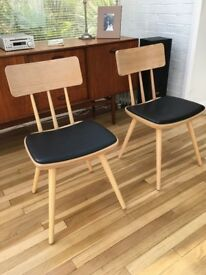Set of 2 Kitson Dining Chairs from Made