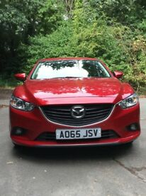 Stunning Soul Red Mazda 6 SE-L NAV in Mint Condition Mazda FSH Just 7000 Miles
