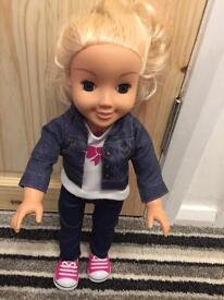 Doll. My friend Cayla