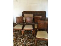1930's Dining Room Chairs x4