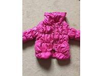 Girls jacket, size 9-12 months