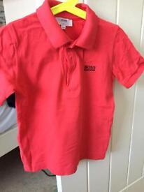 Boys Hugo boss t-shirt