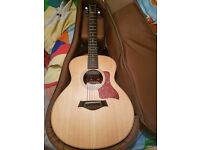 TAYLOR GS MINI SPRUCE TOP WITH ES GO PICKUP INSTALLED. PERFECT CONDITION
