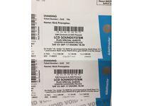 LCD Soundsystem - Alexandra Palace - 23/09/17 - 2 tickets