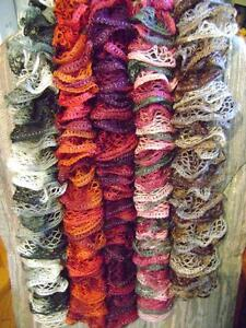 BEAUTIFUL HANDMADE STYLISH SCARFS IN VARIOUS COLOURS  *ORILLIA*