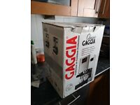Gaggia classic coffee machine new & unused