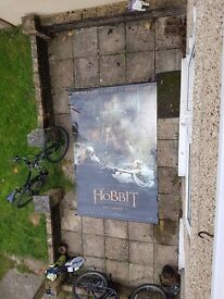 Poster The Hobbit, the battle of the five armies 240 x 150 cm