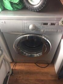 Lg direct drive washing machine 7.5kg Hot and cold fill Free delivery and fitting