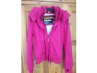 Ladies Pink Superdry Jacket as new